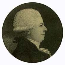 Martignac Senior (1742-1820) first President of the Bar of Bordeaux of the modern era in 1811.